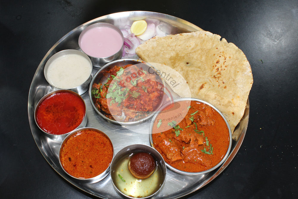 Splendid Gala Mutton Thali