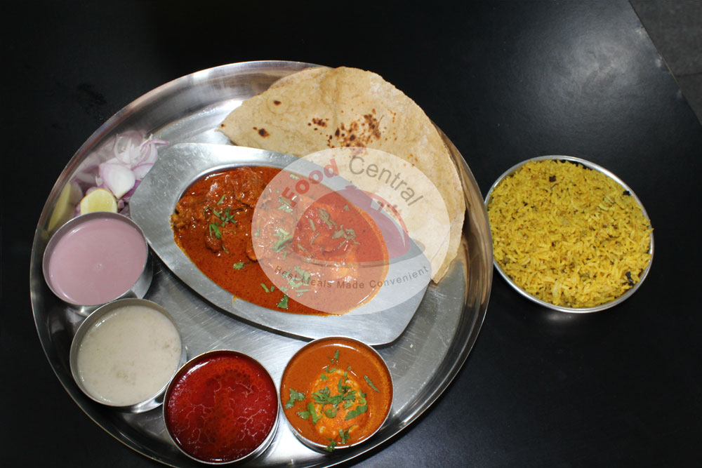 Gala Chicken Thali
