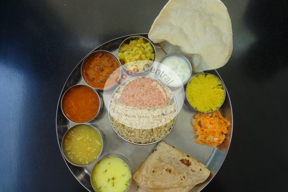 Gala Vegetarian Thali