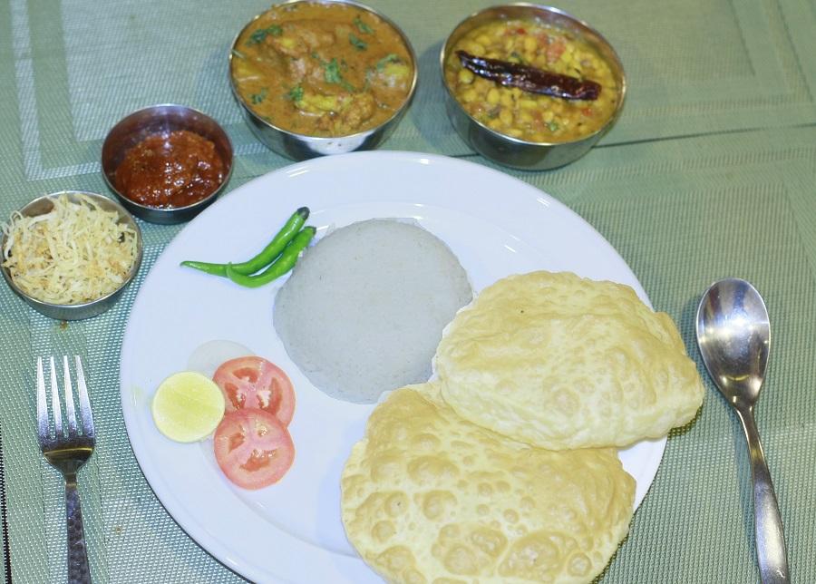 Bengali Veg Combo
