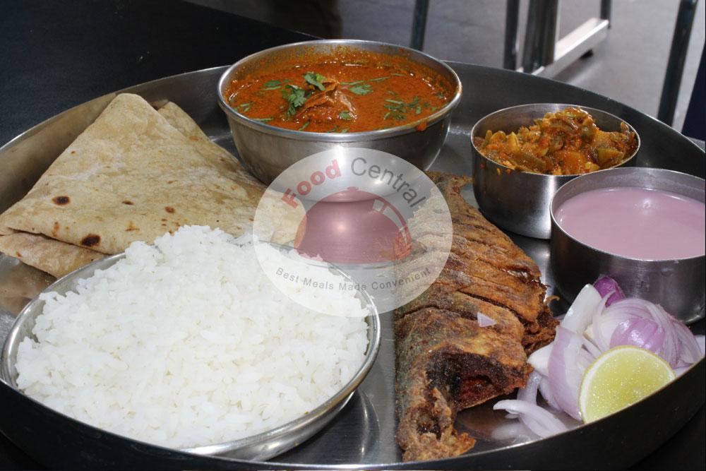 Solo fish Thali